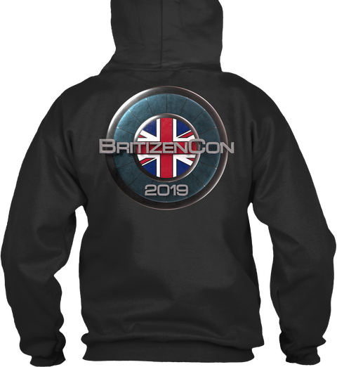 BritizenCon 2019 No Zip Hoodie